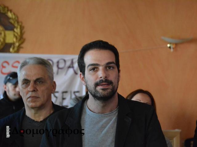 Δήλωση συμπαράστασης του Γ. Σακελλαρίδη προς τους εργαζόμενους στη συμβολική διαμαρτυρία στο δημαρχείο