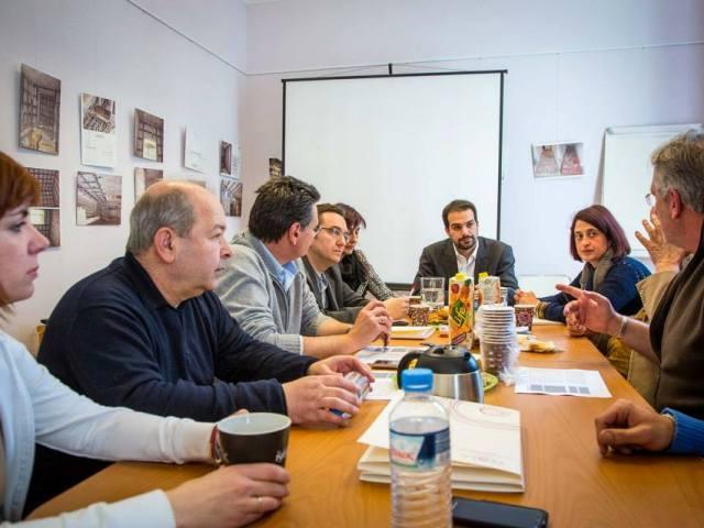 Γ. Σακελλαρίδης: «Προτεραιότητα μας η συνεργασία του δήμου με το ΚΕΘΕΑ»