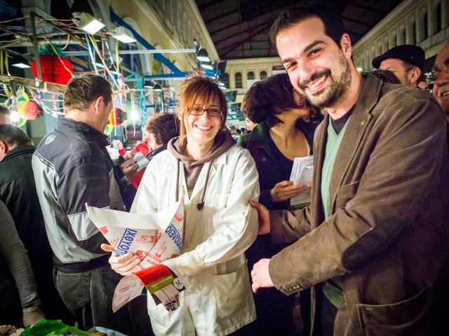 Δήλωση του Γ. Σακελλαρίδη σε επίσκεψη στην Βαρβάκειο Αγορά