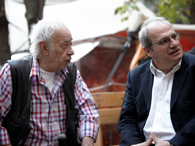 Βασίλης Αλεξάκης - Κώστας Παπαδόπουλος - Εκδήλωση της Ανοιχτής Πόλης για τον πολιτισμό