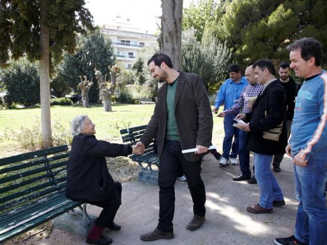 Επίσκεψη στο Γηροκομείο Αθηνών