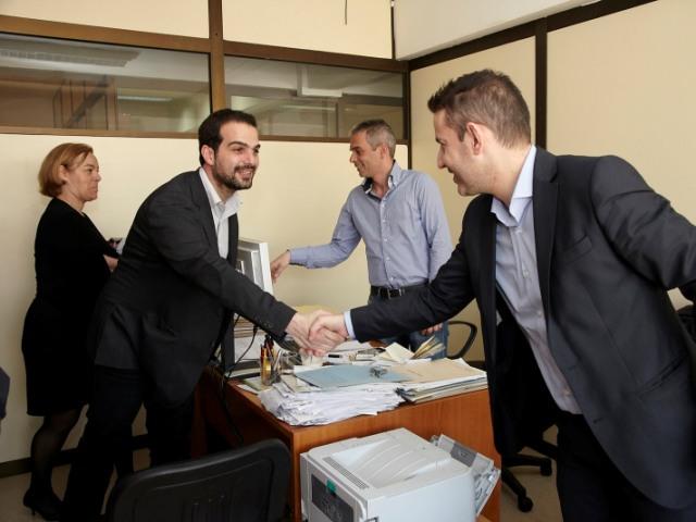 Επίσκεψη στις υπηρεσίες του Δήμου