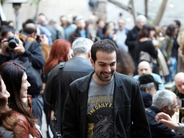 Γαβτιήλ Σακελλαρίδης - Εκδήλωση της Ανοιχτής Πόλης για τον πολιτισμό 1