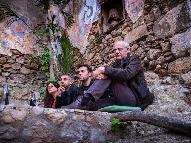 Γιώργος Κιμούλης - Λαέρτης Βασιλείου - Εκδήλωση της Ανοιχτής Πόλης για τον πολιτισμό