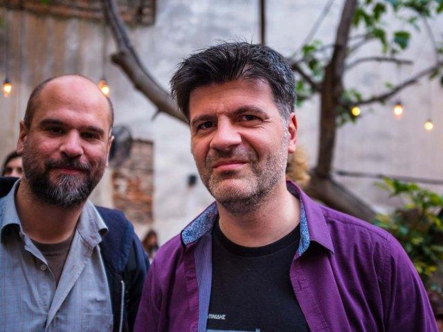 Φοίβος Δεληβοριάς - Στέφανος Ρόκκος - Εκδήλωση της Ανοιχτής Πόλης για τον πολιτισμό