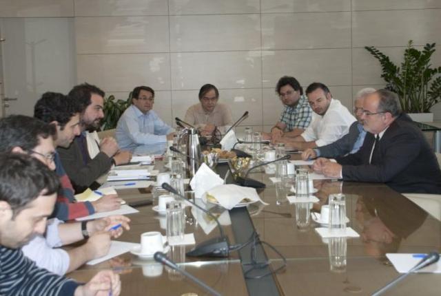 Συνάντηση Γαβριήλ Σακελλαρίδη με το προεδρείο της ΓΣΕΒΕΕ