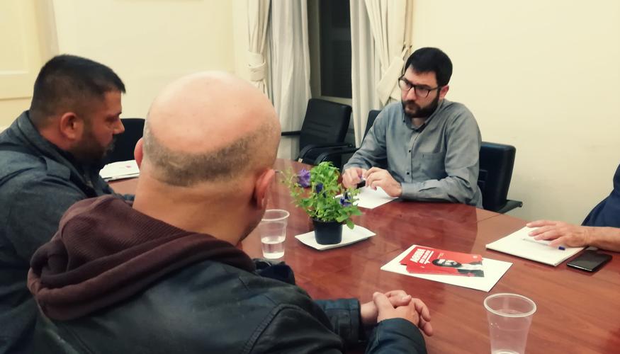 Νάσος Ηλιόπουλος: Η Αθήνα πρέπει να αποκτήσει ένα μεγάλο και σύγχρονο, υπαίθριο παζάρι