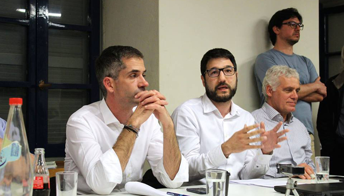 Νάσος Ηλιόπουλος: Κάνουμε πετάλι για μια «Αθήνα από την αρχή»