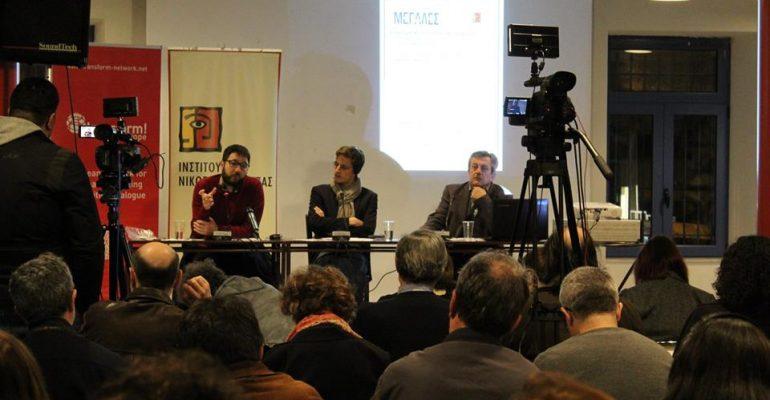 Νάσος Ηλιόπουλος: Θέλουμε έναν δήμο που θα παρέχει περισσότερα στους ανθρώπους του