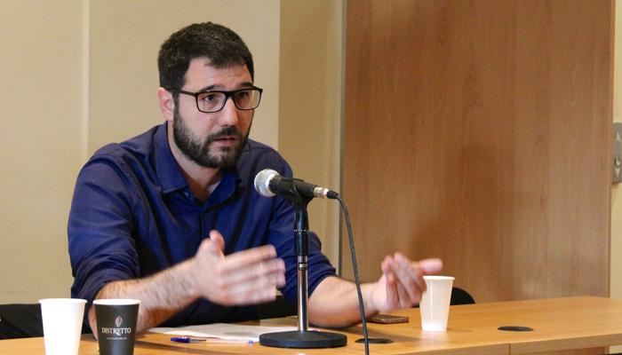 Παρέμβαση του Νάσου Ηλιόπουλου σε εκδήλωση για την Κοινωνική και Αλληλέγγυα Οικονομία
