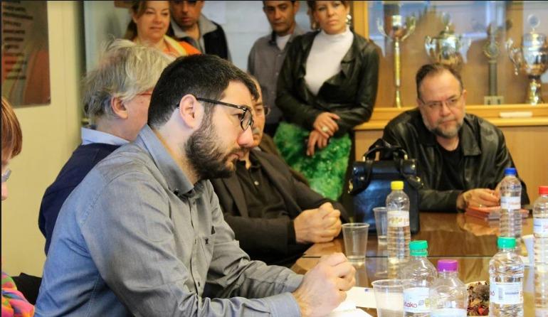 Ν. Ηλιόπουλος: Χωρίς τη στήριξη των εργαζόμενων, ο Δήμος δεν γίνεται να προχωρήσει ούτε ένα βήμα μπροστά