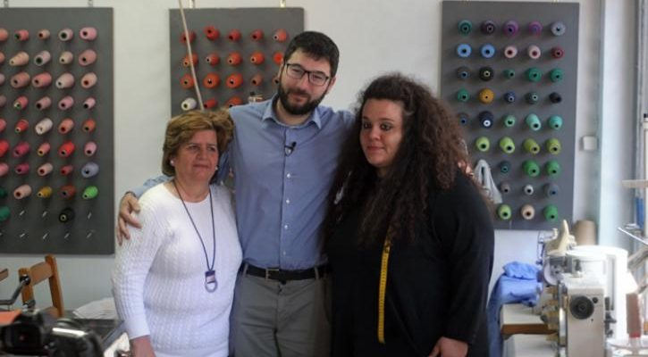 Συνάντηση του Νάσου Ηλιόπουλου με εργαζόμενες γυναίκες: «Δεν είναι ημέρα μνήμης, είναι ημέρα διεκδίκησης»