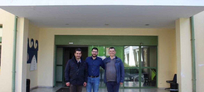 Επίσκεψη του Νάσου Ηλιόπουλου στο Κέντρο Εκπαίδευσης και Αποκατάστασης Τυφλών