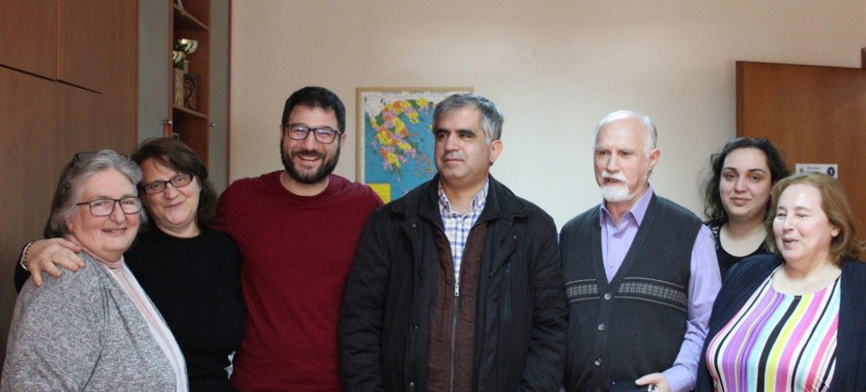 Σχεδιάζουμε μία πόλη φιλική για ΑμεΑ και εμποδιζόμενα άτομα: Συνάντηση Ν. Ηλιόπουλου με την Εθνική Ομοσπονδία τυφλών