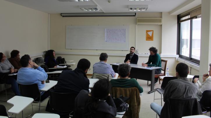 Συνάντηση του Νάσου Ηλιόπουλου με τους Φίλους Τριγώνου Αθηνών