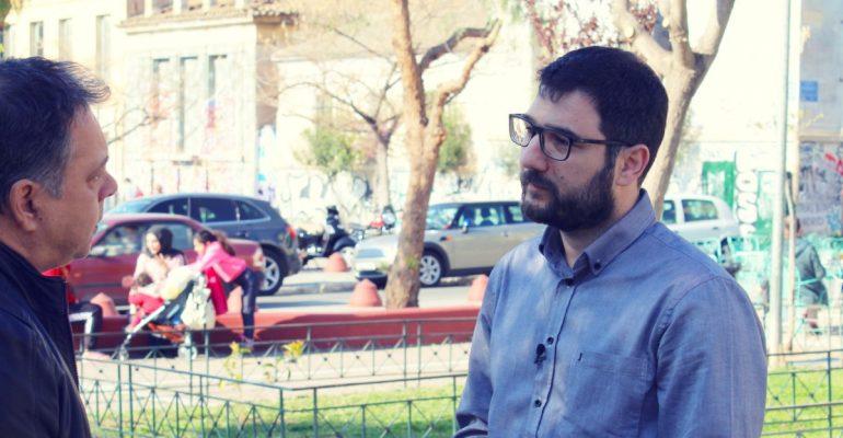 Νάσος Ηλιόπουλος: Θα είμαι στο δεύτερο γύρο και στις 3 Ιουνίου θα είμαι ένας χαρούμενος άνθρωπος με σημαντικές ευθύνες