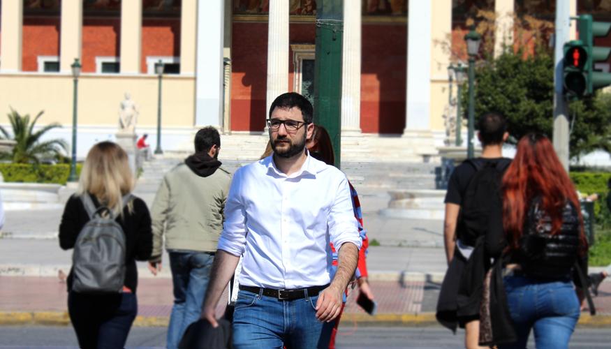 Ν. Ηλιόπουλος: Μετά τη νίκη του ΣΥΡΙΖΑ ο κ. Μπακογιάννης θα έχει την ευκαιρία να διεκδικήσει την ηγεσία της ΝΔ