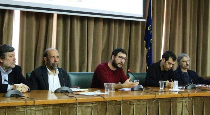 Νάσος Ηλιόπουλος: Πρέπει να οικοδομήσουμε πόλεις που θα δίνουν περισσότερα στους ανθρώπους της