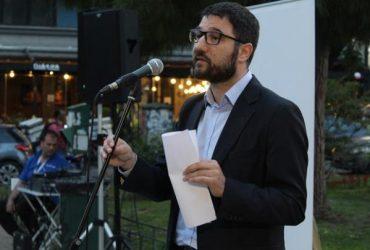 Ο Νάσος Ηλιόπουλος στην 7η Δημοτική Κοινότητα