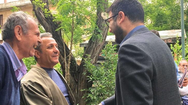 Η Ανοιχτή Πόλη και ο Νάσος Ηλιόπουλος στους δρόμους του Αγίου Παντελεήμονα