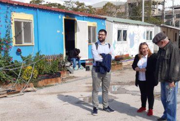 Η Ανοιχτή Πόλη και ο Νάσος Ηλιόπουλος στο κέντρο φιλοξενίας προσφύγων του Ελαιώνα