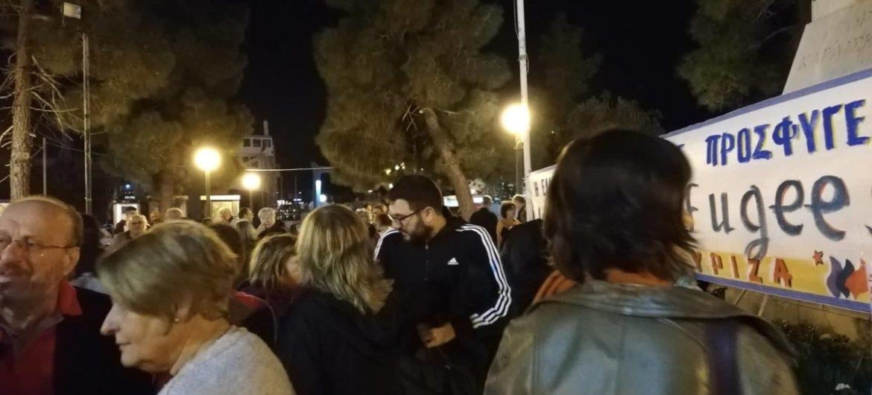 Η Ανοιχτή Πόλη στο καλωσόρισμα των προσφύγων στο λιμάνι του Πειραιά