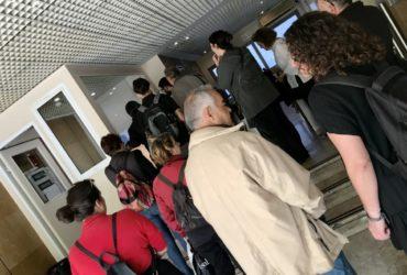 Η Ανοιχτή Πόλη μαζί με πολίτες και συλλογικότητες στα γραφεία της ΚΤΥΠ για τη διάσωση της Πάτμου Καραβία