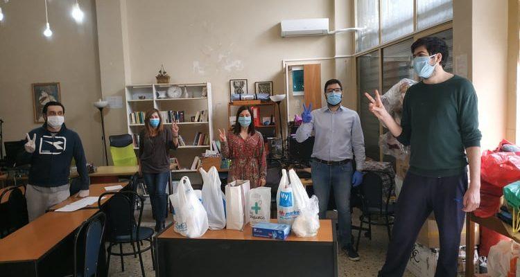Συλλογή ειδών υγιεινής και καθαρισμού για φυλακές και προσφυγικές δομές