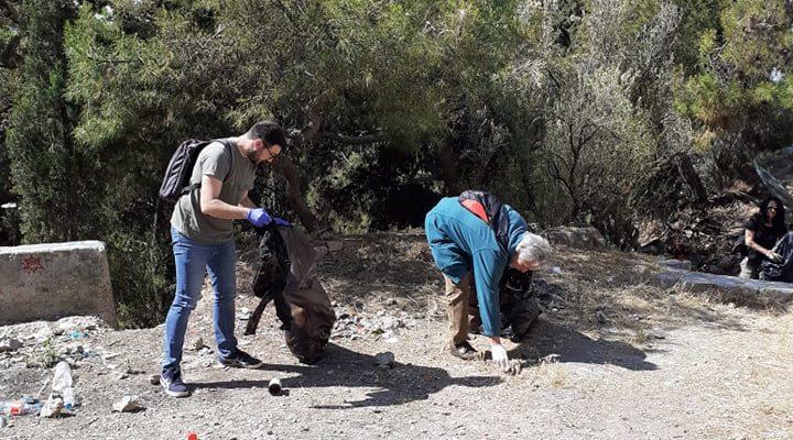 Δράση καθαρισμού στο λόφο του Στρέφη