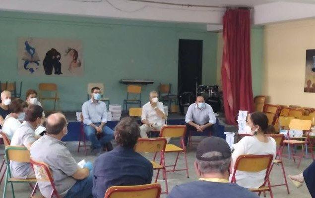 Επίσκεψη της Ανοιχτής Πόλης στα σχολεία της Γκράβας